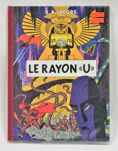 JACOBS  Le Rayon U - Ed. Blake Mortimer -...
