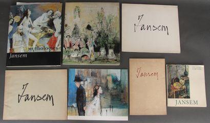 Jean JANSEM (1920-2013)  Lot de catalogues...