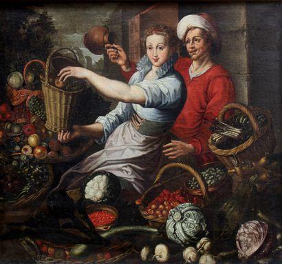 Ecole flamande du début du XVIIème siècle,...