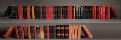 Livres reliés XIXème s. et modernes