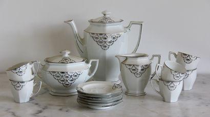 Tchécoslovaquie  Partie de service à thé...