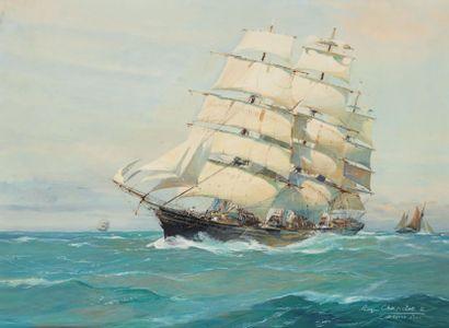 Roger CHAPELET, peintre de la Marine (1903-1995)