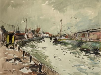Fernand HERBO, peintre de la Marine (1905-1995)