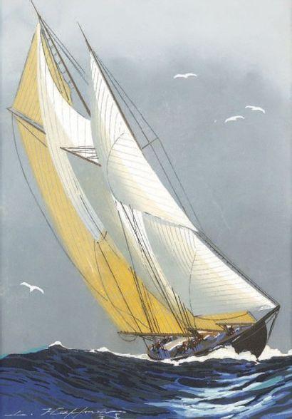 Léon HAFFNER, peintre de la Marine (1881-1972)