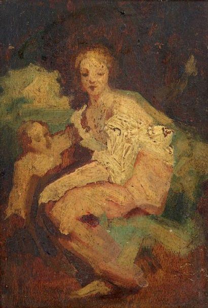ECOLE FRANCAISE XIXe siècle