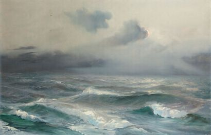 Jean-Louis PAGUENAUD, peintre de la Marine (1876-1952)