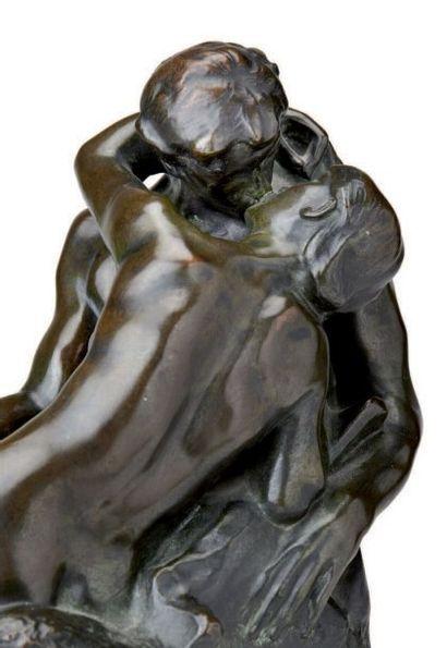AUGUSTE RODIN (1840 - 1917) Baiser, 4ème réduction dit aussi « petit modèle » Epreuve...