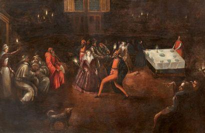 Ecole franco-flamande Fin XVIe-début du XVIIe siècle