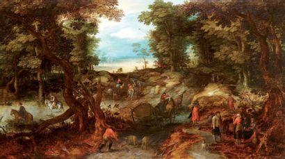 BRUEGHEL Jan dit Brueghel de Velours (Atelier de) Bruxelles 1568 - Anvers 1625