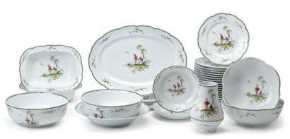Service de table porcelaine Raynaud
