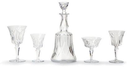 Service de verres à pieds cristal 4 tailles...