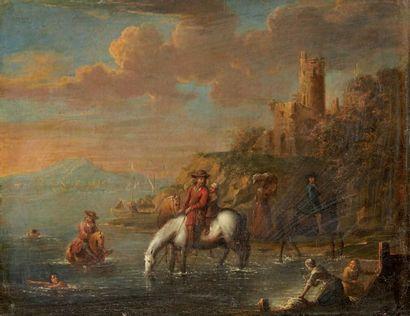VERDUSSEN Jan Peeter (attribué à) 1700-1763