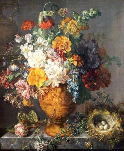 ÉCOLE HOLLANDAISE dans le goût du XVIIIe siècle
