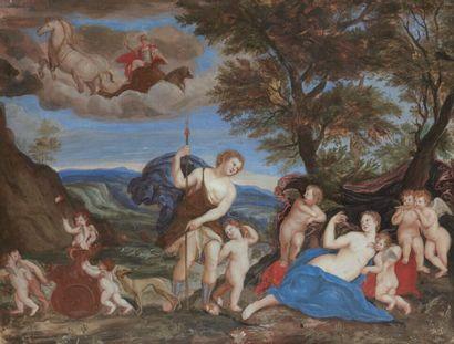 L'ALBANE, Francesco Albani, dit (d'après) 1578-1660