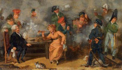 Ecole anglaise Dans le goût de la première moitié du XIXe siècle