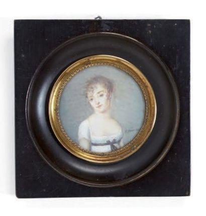 GARNIER J. (attribué à) Fin XVIIIe-début du XIXe siècle