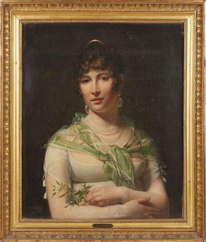 Henri – François RIESENER (1767 – 1828)  Portrait...