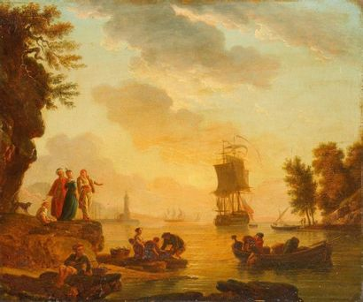 Claude-Joseph VERNET (1714-1789) Ecole de...