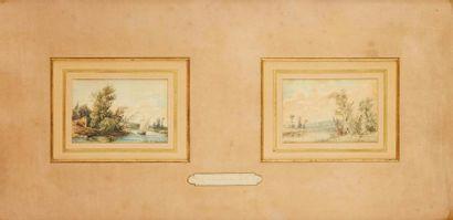 Hippolyte PRADELLES (1824-1913)  Bord de...