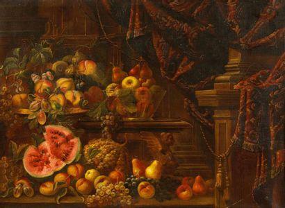 Mariano FETTI (1600-?) Dans le Goût de, travail...