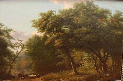 Ecole FRANÇAISE vers 1820,  suiveur de BRUANDET...