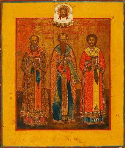 Les Trois Hiérarches   St Basile, St Grégoire...
