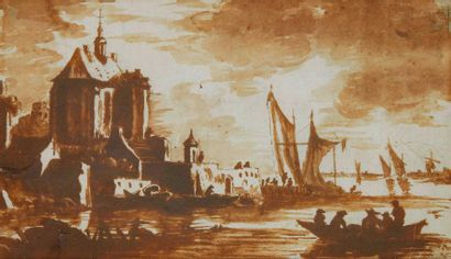 BISSCHOP Jan de (Attribué à) 1628 - 1671