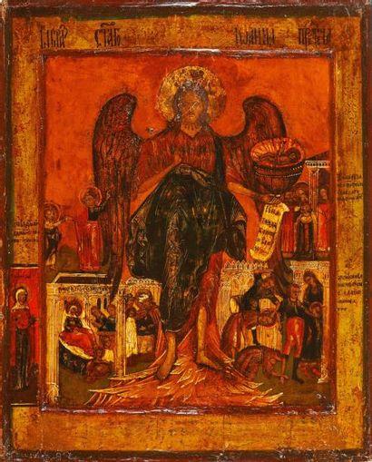 St Jean Le Précurseur  Icône d'origine russe,...