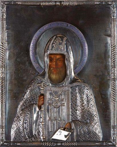 St Mitrophane, Évêque de Voronezh Icône d'origine...
