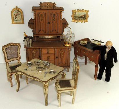 Mobilier de salle à manger – partie de bureau...