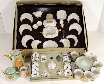 Ensemble de vaisselle en porcelaine avec...