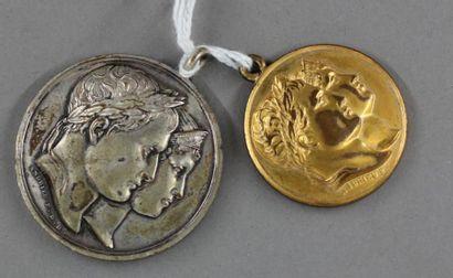 Deux médailles Napoléon