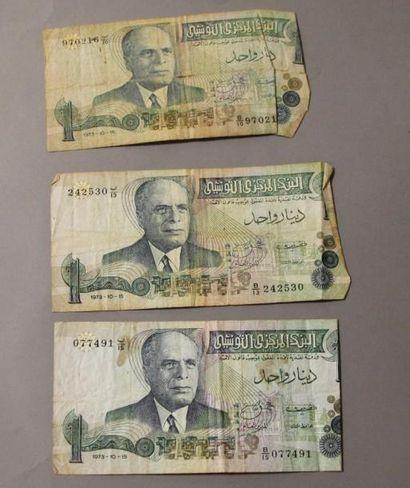 Lot de billets anciens