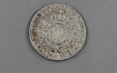 Ecu en argent Louis XVI 1785