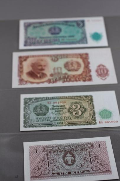 12466-26  Lot de billets de banque anciens...