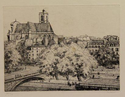 Alexandre URBAIN (1875-1953)  L'Eglise St...