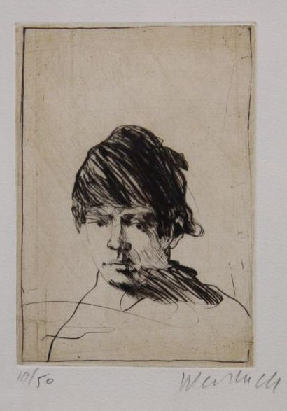 Claude WEISBUCH (1927-2014)  Portrait de...