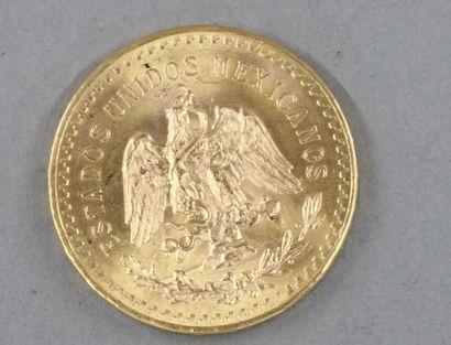 *Une pièce de 50 Pesos en or
