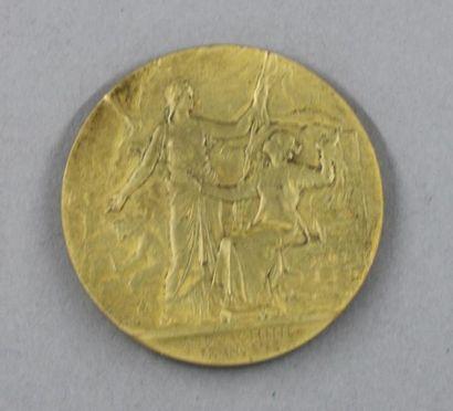 A. PATEY (d'après)  Médaille en bronze INDOCHINE...