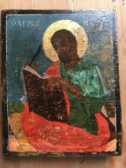 Saint Marc l'Évangeliste    Icône d'origine...