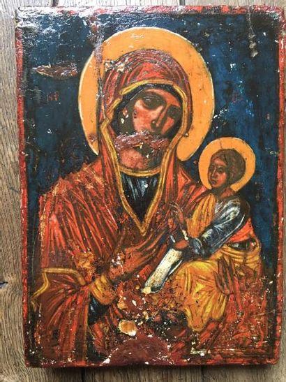 La Vierge Hodighitria    Icône originaire...
