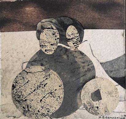 Bernard MANDEVILLE (1921-2000)  Composition...