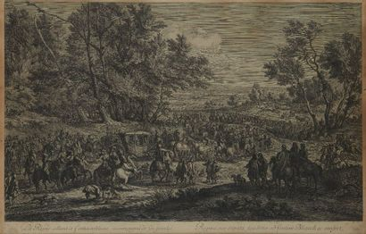 Adam Frans VAN DER MEULEN (1632-1690) d'après...