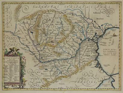Pieter van den KEERE (1571-1646) cartographe...