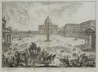 Jean Baptiste PIRANESE (1720-1778) d'après...