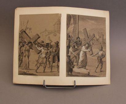 Ecole française du XIXème s. La Passion du...