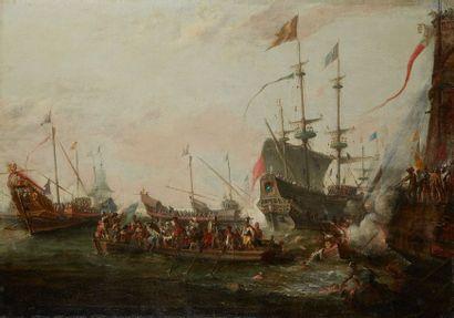 *Attribué à Gaspar van Eyck (Anvers, 1613-...