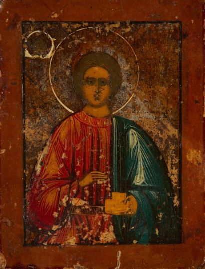 La Vierge de Vladimir Coupe d'une grande...