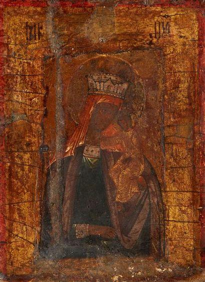 Saint Pantelemon Icône de voyage, originaire...