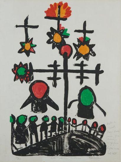 Eugène IONESCO (1990-1994) Rituel Lithographie...